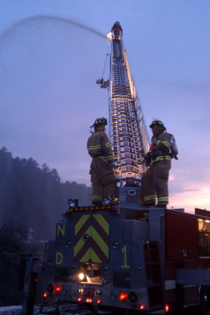 Norwich Ladder 1 at Dusk